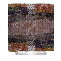 Collage Paper Kaleidoscope 1 Shower Curtain