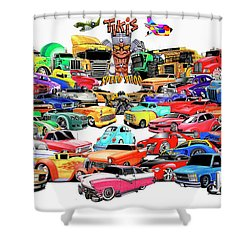 Collage2013 Shower Curtain by Lyle Brown