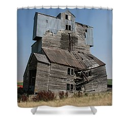 Collapsible Barn Shower Curtain