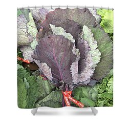Collard Greens Portland Farmers Market 2015 Shower Curtain