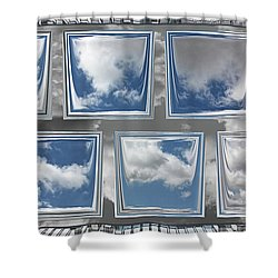 Shower Curtain featuring the digital art Collected Spring Mornings by Wendy J St Christopher
