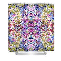 Collective Dream Ascends Shower Curtain