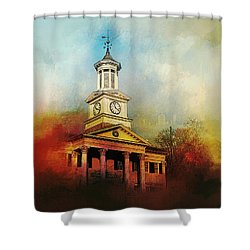 College Colors Shower Curtain