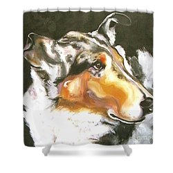 Collie Merle Smooth 2 Shower Curtain