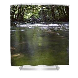 Colligan River 3 Shower Curtain