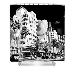 Collins Avenue Shower Curtain