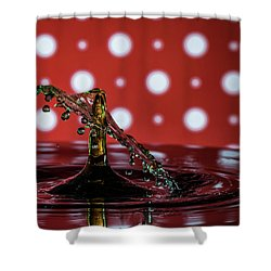 Collision 2018-7 Shower Curtain