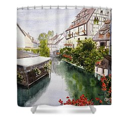 Colmar Canal Shower Curtain