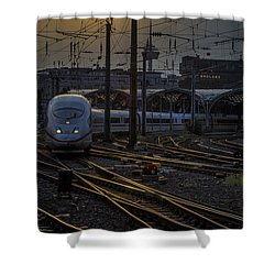 Cologne Central Station Shower Curtain