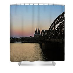 Cologne - Germany Shower Curtain by Cesar Vieira