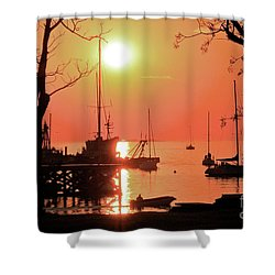 Colonia Del Sacramento I Shower Curtain by Bernardo Galmarini