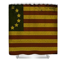 Colonial Flag Shower Curtain