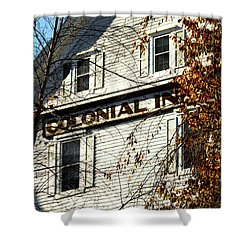 Colonial Inn Shower Curtain
