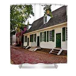 Colonial Times Shower Curtain by Christopher Holmes