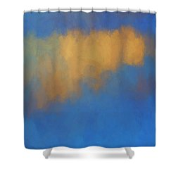 Shower Curtain featuring the digital art Color Abstraction Lvi by David Gordon