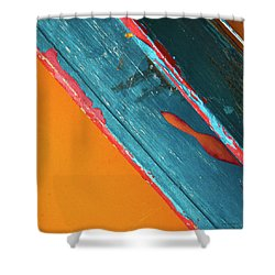 Color Abstraction Lxii Sq Shower Curtain