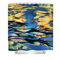 Shower Curtain featuring the photograph Color Abstraction Lxix by David Gordon