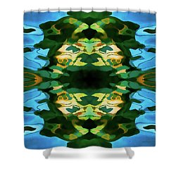 Shower Curtain featuring the photograph Color Abstraction Lxv by David Gordon
