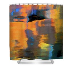 Color Abstraction Lxxii Shower Curtain