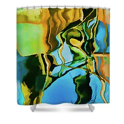 Shower Curtain featuring the photograph Color Abstraction Lxxiii by David Gordon