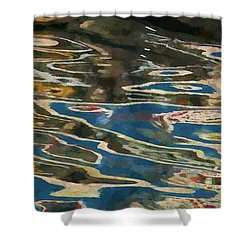 Color Abstraction Lxxv Shower Curtain