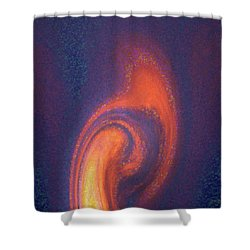 Color Abstraction Xlii Shower Curtain by David Gordon