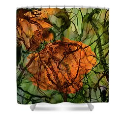 Color Abstraction Xx Shower Curtain