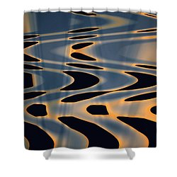 Color Abstraction Xxiv  Shower Curtain by David Gordon