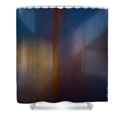 Color Abstraction Xxix Shower Curtain by David Gordon
