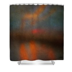 Color Abstraction Xxv Shower Curtain by David Gordon