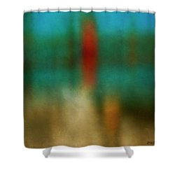Color Abstraction Xxvi Shower Curtain by David Gordon