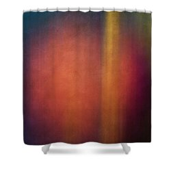Color Abstraction Xxvii Shower Curtain by David Gordon