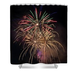 Shower Curtain featuring the photograph Color And Chaos by Bill Pevlor