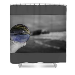 Color Ball Shower Curtain