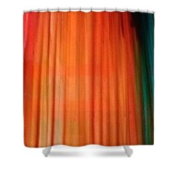 Color Bands Shower Curtain