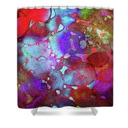 Color Burst Shower Curtain by AugenWerk Susann Serfezi