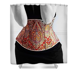 Shower Curtain featuring the photograph Color Corset by Andrey  Godyaykin