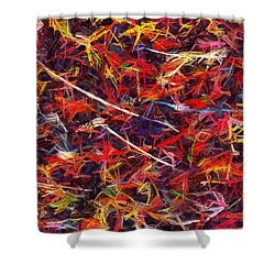 Color Crayons Shower Curtain
