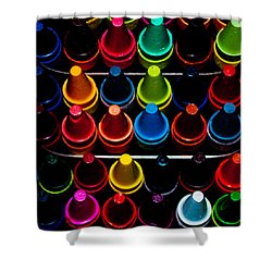 Shower Curtain featuring the photograph Color Creation by Colleen Coccia
