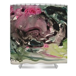 Color Fever 115 Shower Curtain by Seon-Jeong Kim
