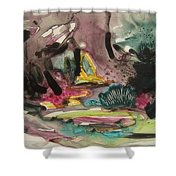 Color Fever 136 Shower Curtain by Seon-Jeong Kim