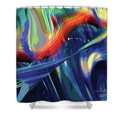 Color Flight Shower Curtain
