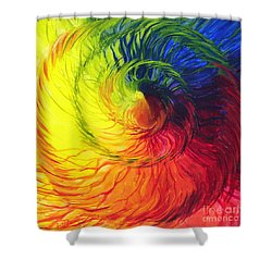 Color Shower Curtain by Jeanette Jarmon