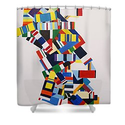 Color Linked To Personality Shower Curtain