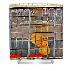 Color Me Golden Shower Curtain