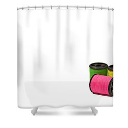 Color Me Happy Shower Curtain by Evelina Kremsdorf