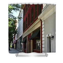 Shower Curtain featuring the photograph Color Me Main St Usa by Skip Willits