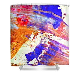 Color Me This Shower Curtain by Susan Leggett