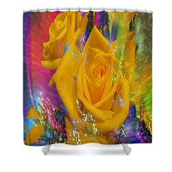 Color Me With Love Shower Curtain
