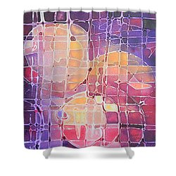 Color Odyssey Shower Curtain